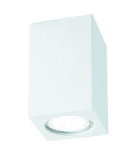 Plafonnier rectangle Gypsum, en plâtre
