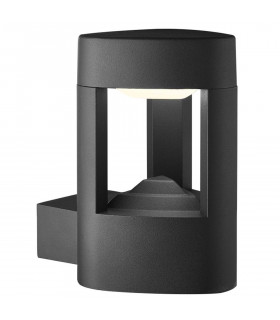 Applique Led Outdoor, en fonte d'aluminium et acrylique