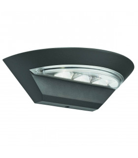 Applique Led Outdoor, en aluminium et polycarbonate