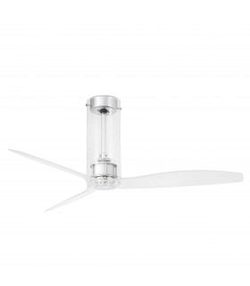 Ventilateur de plafond transparent Tube
