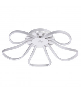 Suspension blanche Techno   16 Cm