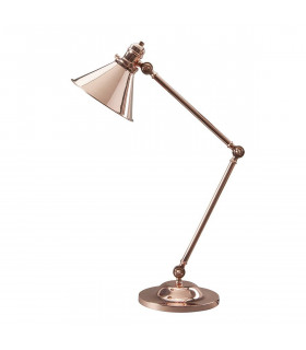 Lampe Provence, laiton antique