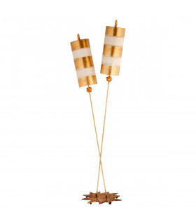 Lampadaire Nettle Lux, or, 2 ampoules