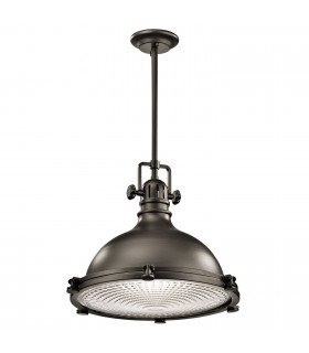 Suspension Hatteras Bay, cuivre antique, grande