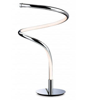 Plafonnier LED Gemini, chrome