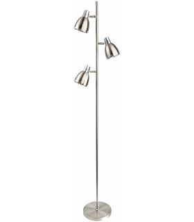 Lampadaire Vogue, laiton antique
