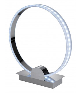 Lampe Ring, chrome