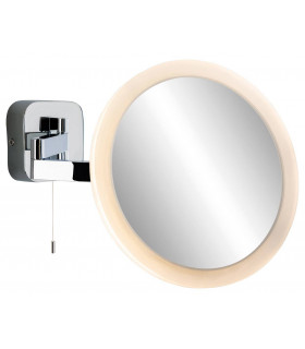 Miroir Magnifying, chrome